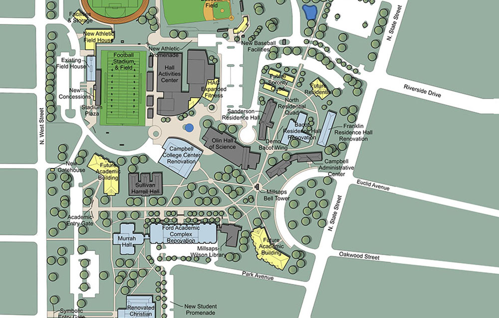 Performing Arts Concept and Campus Master Plan