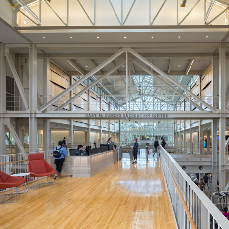 H+C-designed Recreation Center at Washington University Wins Architecture Award