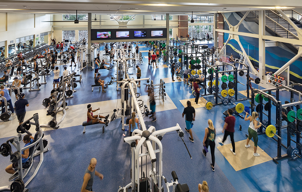 E L  Wiegand Fitness Center - Hastings+Chivetta