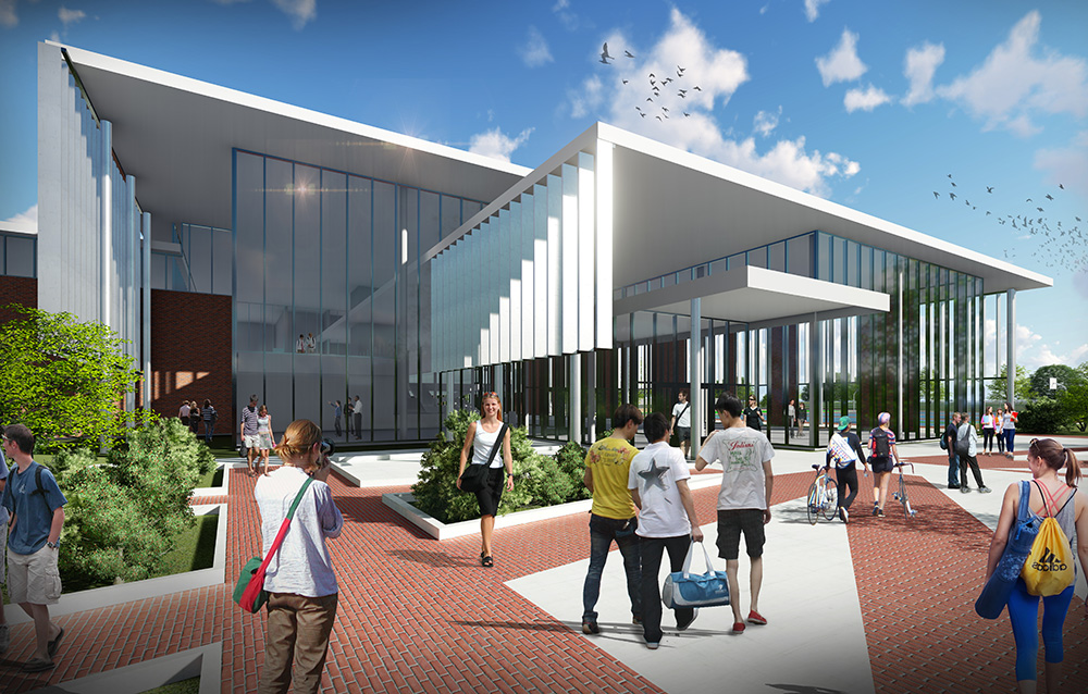Towers Recreation Center Concept