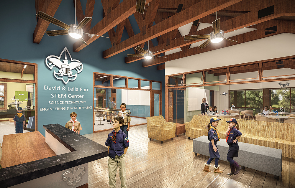 STEM Center at Beaumont Scout Reservation