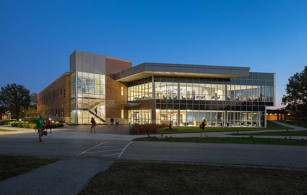 Center for the Sciences Phase One – Chemistry and Biochemistry Building