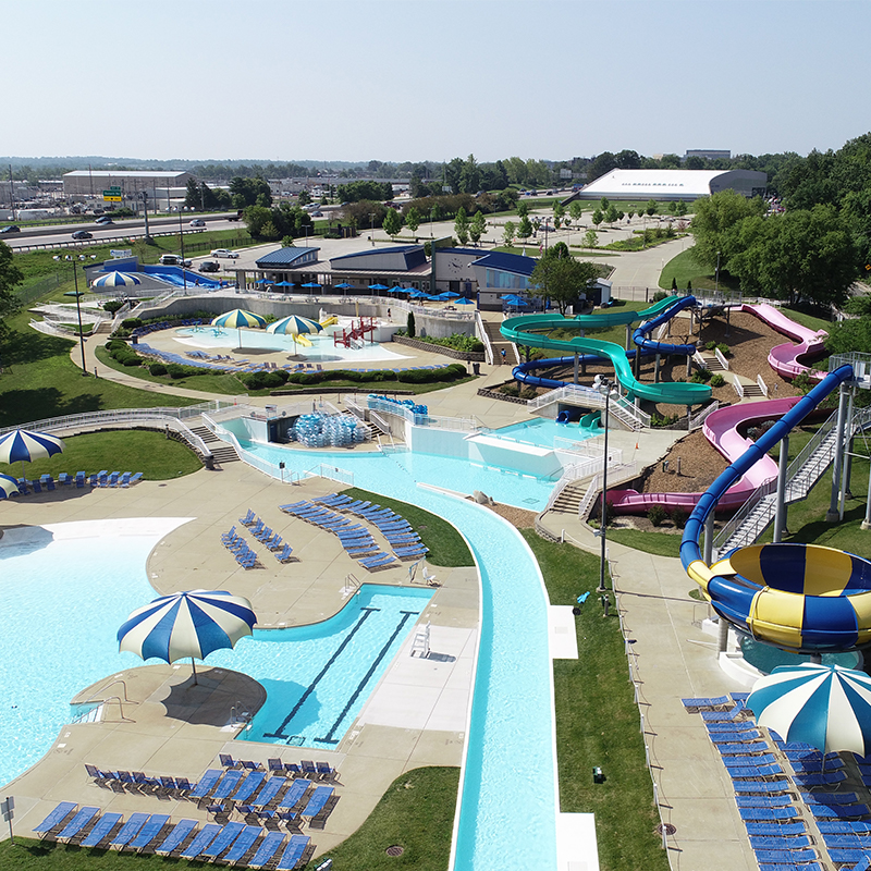 H+C-designed Aquaport Opens to Maryland Heights Community