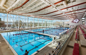 Aquatics in the Human Performance Center