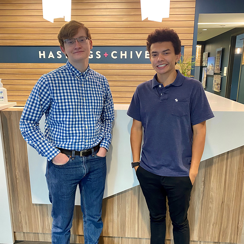 Summer Interns Gain Industry Experience at H+C