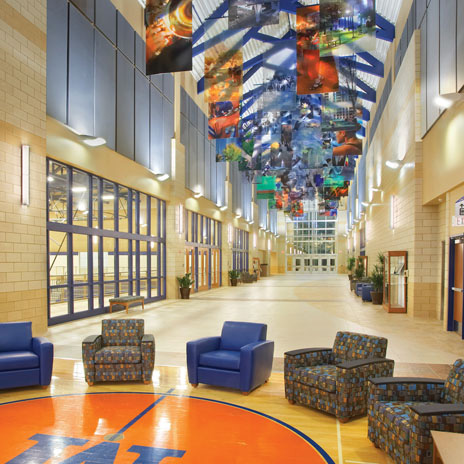 5 H+C Projects Featured in American School & University