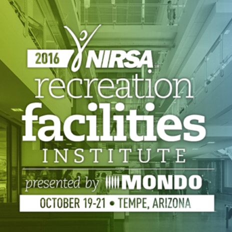 Erik Kocher Presents on Inclusive Facilities at NIRSA Recreation Facilities Institute