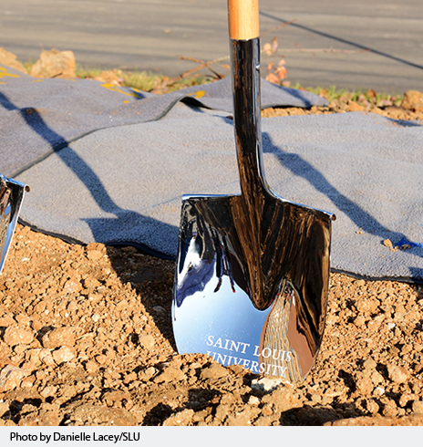 Saint Louis University breaks ground on second residence hall