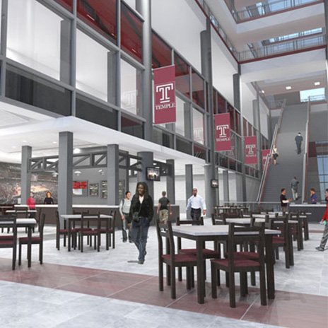 Temple University Chooses H+C for $40 Million Addition and Renovation