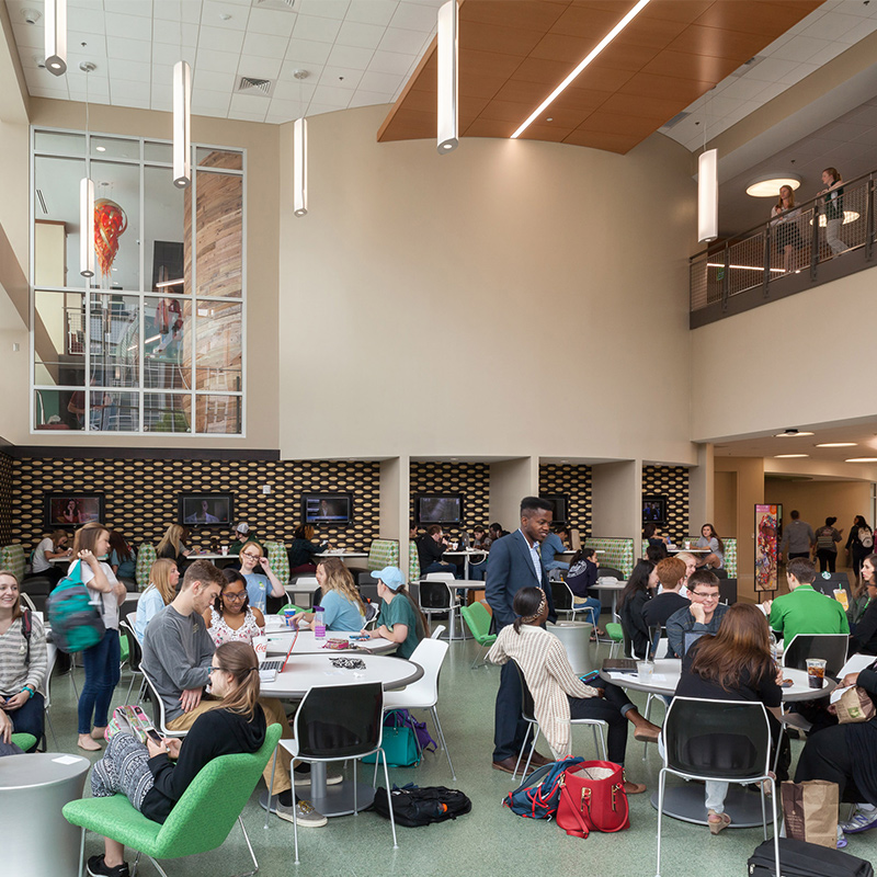 Designing Student Centers to Bolster Retention