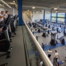 Cadet Fitness Center at the US Air Force Academy Earns LEED Gold